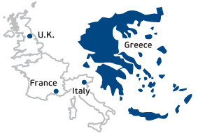 greece and western europe